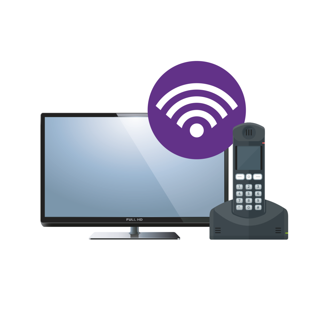 WiFi symbol Television Phone