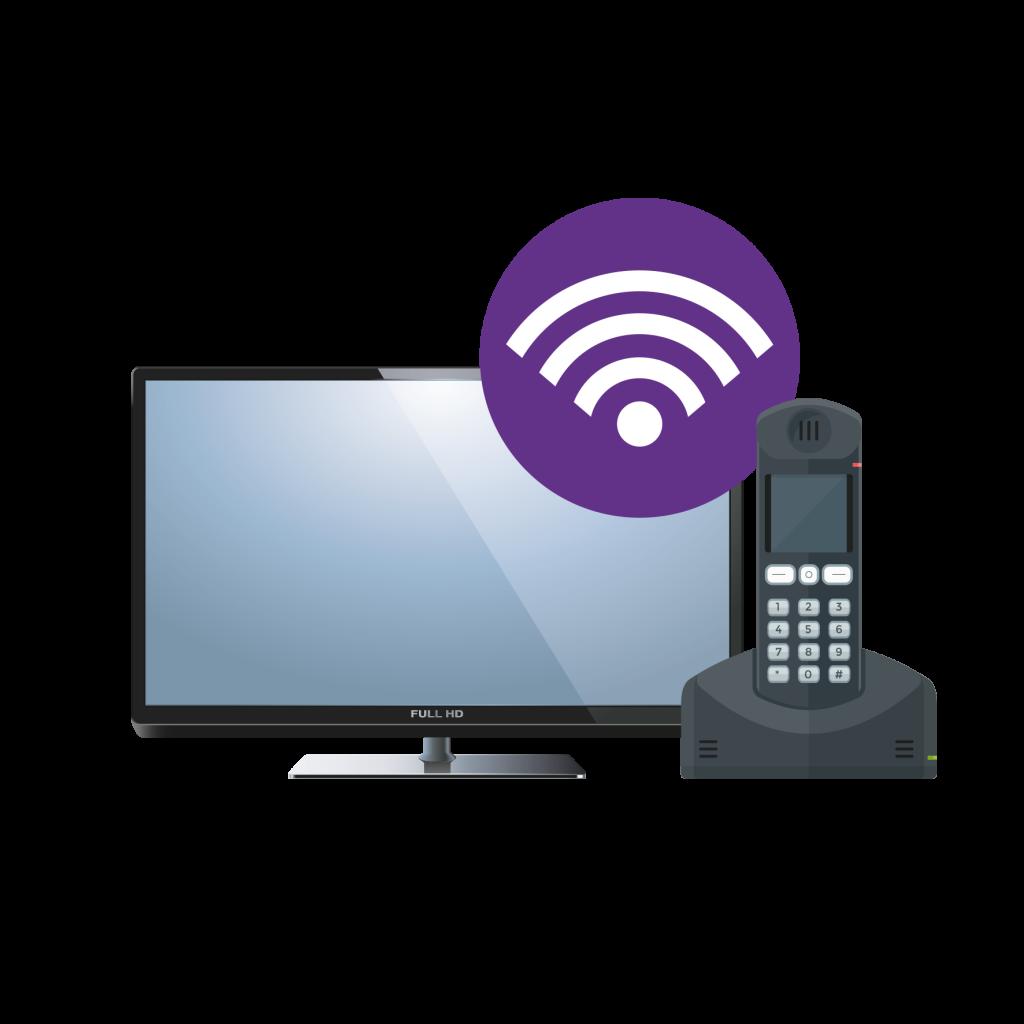 WiFi symbol Television Phone